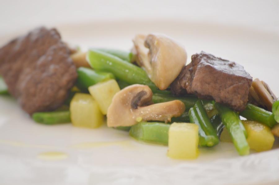 Franchi Food academy cervo e fagiolini ricetta