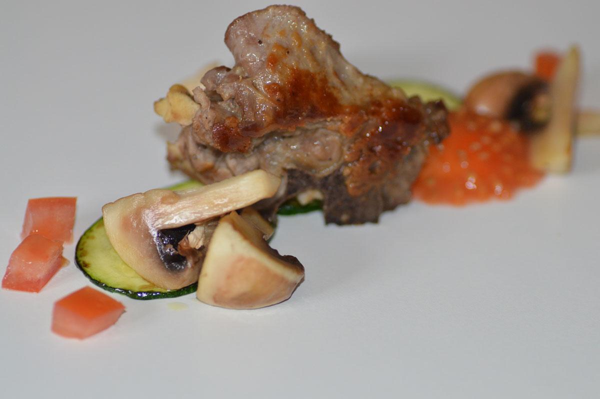 cervo e funghi ricetta