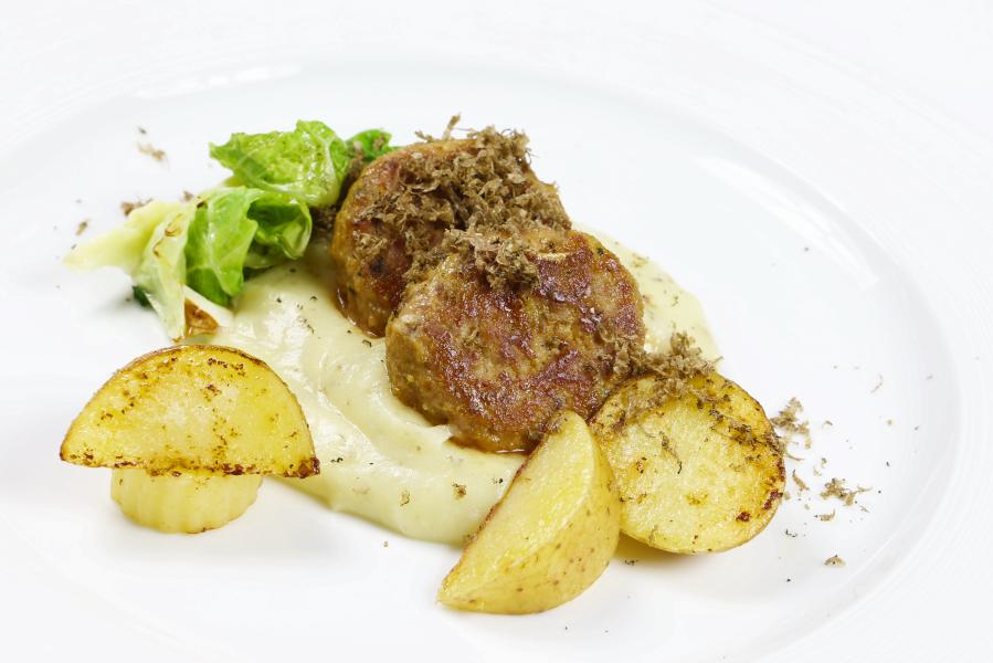 ricetta patate e cinghiale burgher