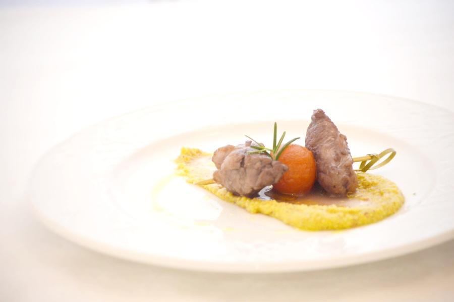 Franchi Food academy ricetta polenta con daino
