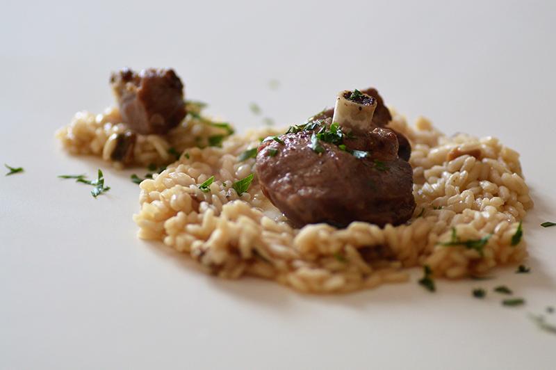 secondi piatti risotto e capriolo ricetta selvaggina